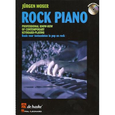 MOSER, JURGEN - ROCK PIANO + CD