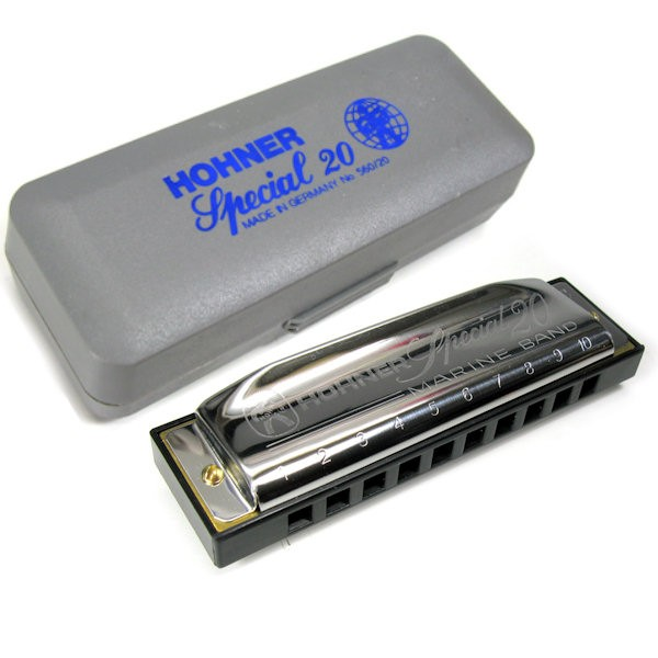 HOHNER SPECIAL 20 CLASSIC 560/20 G - MONDHARMONICA G MAJEUR