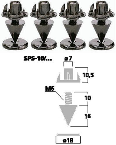 MONACOR SPS-10/SC