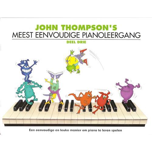 THOMPSON, JOHN 3 - MEEST EENVOUDIGE PIANOLEERGANG 3