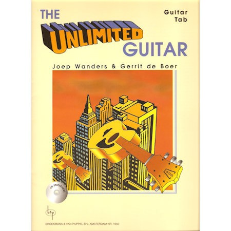 WANDERS, JOEP & BOER, GERRIT DE - UNLIMITED GUITAR + CD