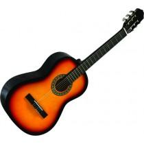 Gomez 001/VSB Spaans / klassieke gitaar met nylon snaren in de kleur Vintage Sunburst