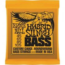 ERNIE BALL 2833 HYBRID SLINKY - SNAREN BAS 045-105 ROUNDWOUND