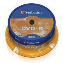 VERBATIM 43522 SPINDLE 25