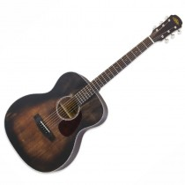 ARIA 101DP MUBR MUDDY BROWN - GITAAR WESTERN OM SPRUCE TOP