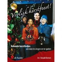 KERNEN, RONALD - VROLIJK KERSTFEEST ZANG PIANO + CD