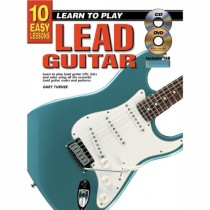 TURNER, GARY - TEACH YOURSELF LEAD GUITAR (GITAAR) + CD/DVD - bladmuziek