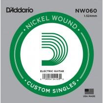 D'ADDARIO NW-060 - SNAAR 060 NICKEL WOUND