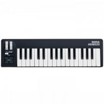 MIDIPLUS AKM320 BLACK - KEYBOARD USB MIDI CONTROLLER 32 MINI TOETSEN