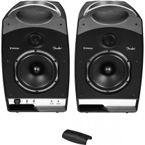 FENDER PASSPORT STUDIO BLACK - MONITORSET DRAAGBAAR DJ & STUDIO