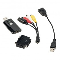 KONIG CSUSBVG100 VIDEO GRABBER - USB 2.0 - AUDIO / VIDEO OMZETTER