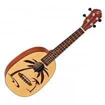 ORTEGA RUPA5 SPRUCE TOP SATIN FINISH - UKELELE CONCERT PINEAPPLE PALM TREE