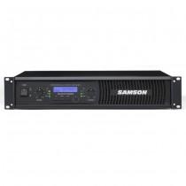 SAMSON SXD7000 - VERSTERKER DSP 2X 1000 WATT 4 OHM