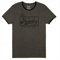 FENDER TEE 9193010541 SMALL - T-SHIRT DARK GREY BEER LOGO S