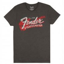 FENDER TEE 9193010540 XX LARGE - T-SHIRT CHARCOAL GREY STRAT '54 XXL