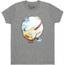 FENDER TEE 9129009606 XL - T-SHIRT STRATOCASTER TODDLER GREY