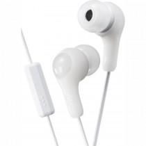 JVC HA-FX7M WHITE - HOOFDTELEFOON IN-EAR + MIC WIT