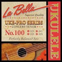LA BELLA 100 UKE-PRO SERIES 029 033 041 029 - SNAREN UKELELE CONCERT & TENOR