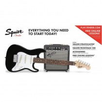SQUIER STRATOCASTER AFFINITY SS PACK BLACK