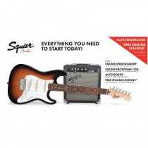 SQUIER STRATOCASTER AFFINITY SS PACK BROWN SUNBURST