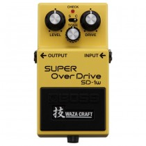 BOSS SD-1W - GITAAREFFECT SUPER OVERDRIVE WAZA CRAFT