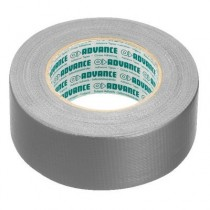 ADVANCE AT169/SI STAGE TEXTIELTAPE - GAFFA TAPE ZILVER 50MM X 50MTR