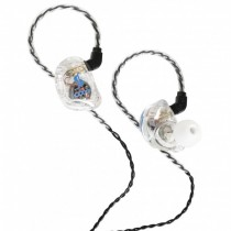 STAGG SPM-435 TRANSPARANT - HOOFDTELEFOON IN-EAR 4 DRIVERS STAGE MONITOR