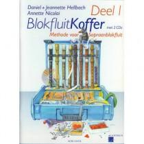 HELLBACH, DANIEL & JEANNETTE - BLOKFLUITKOFFER DEEL 1 +2CD SOPRAAN