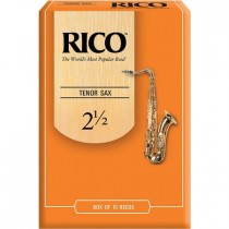 RICO ORANGE BOX 10-PACK - RIET 2.5 TENORSAX