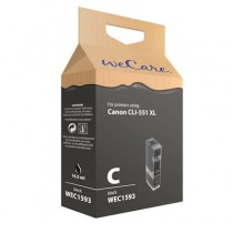 WECARE 1593 BLACK PHOTO - INKTCARTRIDGE CANON CLI-551XL ZWART