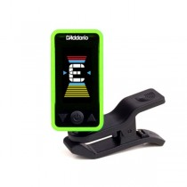 PLANET WAVES ECLIPSE TUNER CT-17 GREEN - STEMAPPARAAT KLEM MODEL GROEN