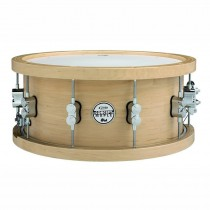 "DW PDP CONCEPT SNAREDRUM THICK WOOD HOOP - SNAARTROM NATURAL MAPLE 14"" X 6.5"""