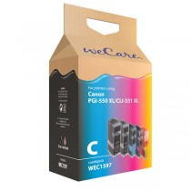 WECARE 1597 COMBIPACK CANON - INKTCARTRIDGE PGI-550XL CLI-551XL