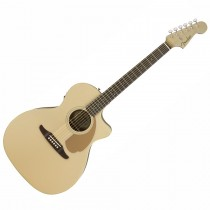 FENDER NEWPORTER PLAYER CHAMPAGNE WN - GITAAR WESTERN GRAND AUDITORIUM EQ
