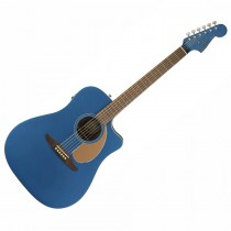 FENDER REDONDO PLAYER BELMONT BLUE WN - GITAAR WESTERN DREADNOUGHT EQ CA