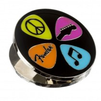 FENDER MAGNET CLIP LOVE, PEACE & MUSIC - MAGNEET KLEM