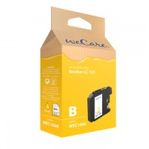 WECARE 1660 - INKTCARTRIDGE BROTHER LC-123 YELLOW