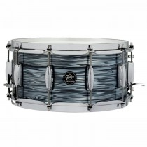 """GRETSCH RENOWN MAPLE SILVER OYSTER PEARL - SNARE DRUM 14"""" X 6.5"""""""