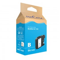 WECARE 1658 - INKTCARTRIDGE BROTHER LC-123 CYAN
