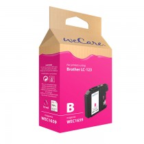 WECARE 1659 - INKTCARTRIDGE BROTHER LC123 MAGENTA