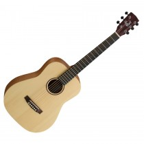 CORT EARTH MINI OPEN PORE NATURAL - GITAAR WESTERN 3/4 TRAVEL EQ + TAS OVANKOL TOETS