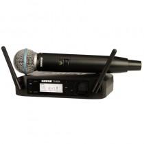 SHURE GLXD24E/B58 - MICROFOON DRAADLOOS DIGITAAL 2.4GHZ