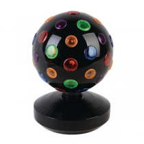 VALUELINE VLBALL01 MULTICOLOUR - DISCOBAL 19 CM RONDDRAAIEND