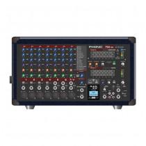 PHONIC POWERPOD 750RW WIRELESS BLUETOOTH - MENGVERSTERKER 2X250W 7-KAN DFX USB