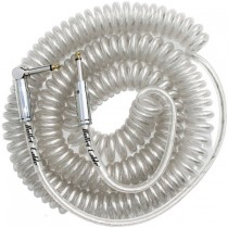 BULLET CABLE BC-30CCC COIL CABLE - KABEL SPIRAAL CLEAR 1X HAAKS 9MTR