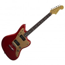 SQUIER JAZZMASTER DELUXE CAR ST ROSEWOOD FINGERBOARD - GITAAR ELEKTRISCH CANDY APPLE RED
