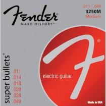 FENDER 3250M SUPER BULLETS - SNAREN ELEKTRISCH 011-049 NICKEL