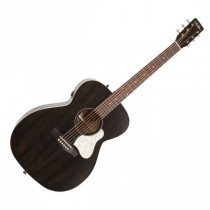 ART & LUTHERIE LEGACY FADED BLACK QIT - GITAAR WESTERN CONCERT HALL SOLID TOP + EQ