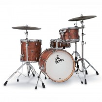 "GRETSCH CATALINA CLUB CT1-J484-SWG SHELLPACK - DRUMSTEL KETELSET 4-DELIG WALNUT GLAZE 18"" BASSDRUM"