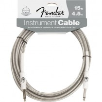 FENDER PERFORMANCE 60TH ANNIVERSARY CABLE 099-0820-055 - KABEL JACK 6.3 - 4.5 MTR 15FT TRANS
